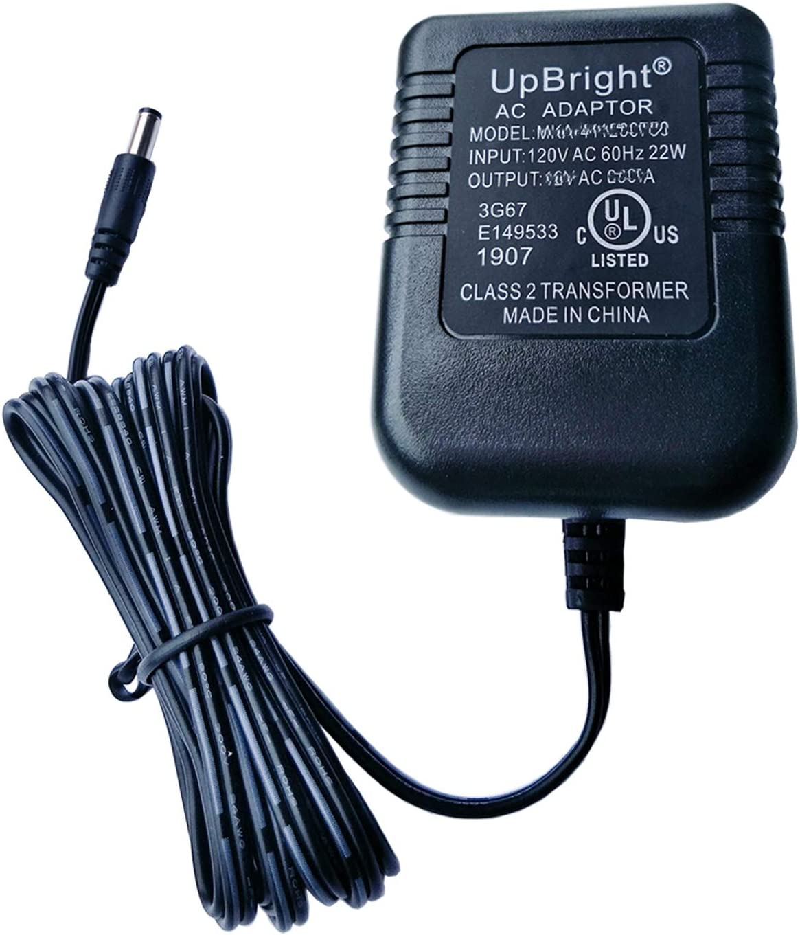 UpBright 12V AC Adapter Compatible with Coleman 5342 5348 Lamp Lantern A35W120400-13/1 W35A-J400-4/1 Mettler PB153 PB302 Lionel SA35-429A AC120100 ...