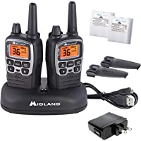 $79 » Midland - X-TALKER T71VP3, 36 Channel FRS Two-Way Radio - Up to 38 Mile Range Walkie…