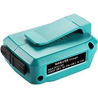Energup 14.4V~18V USB Adapter - USB Stromquelle Addon für Makita Akku BL1830 BL1840 BL1850