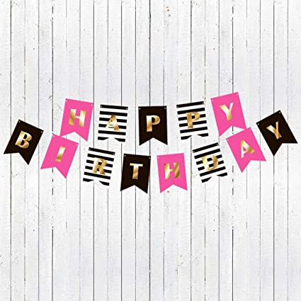 Amazon Com Premium Happy Birthday Banner Party Decorations