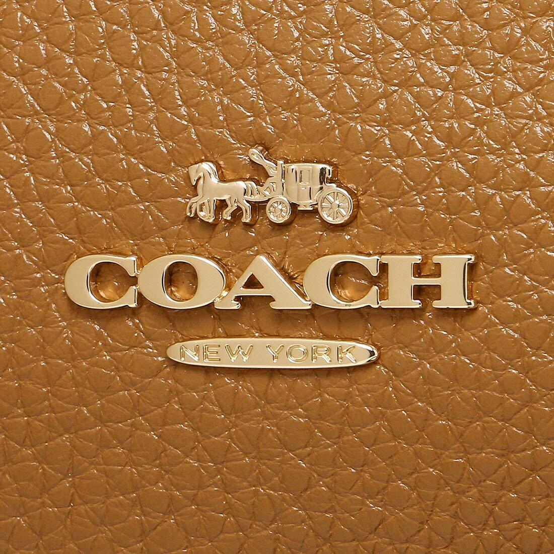 89063f402ea3 Amazon.co.jp: [コーチ]ショルダーバッグ アウトレット レディース COACH F34767 IMLQD ライトブラウン [並行輸入品]:  ジュエリー