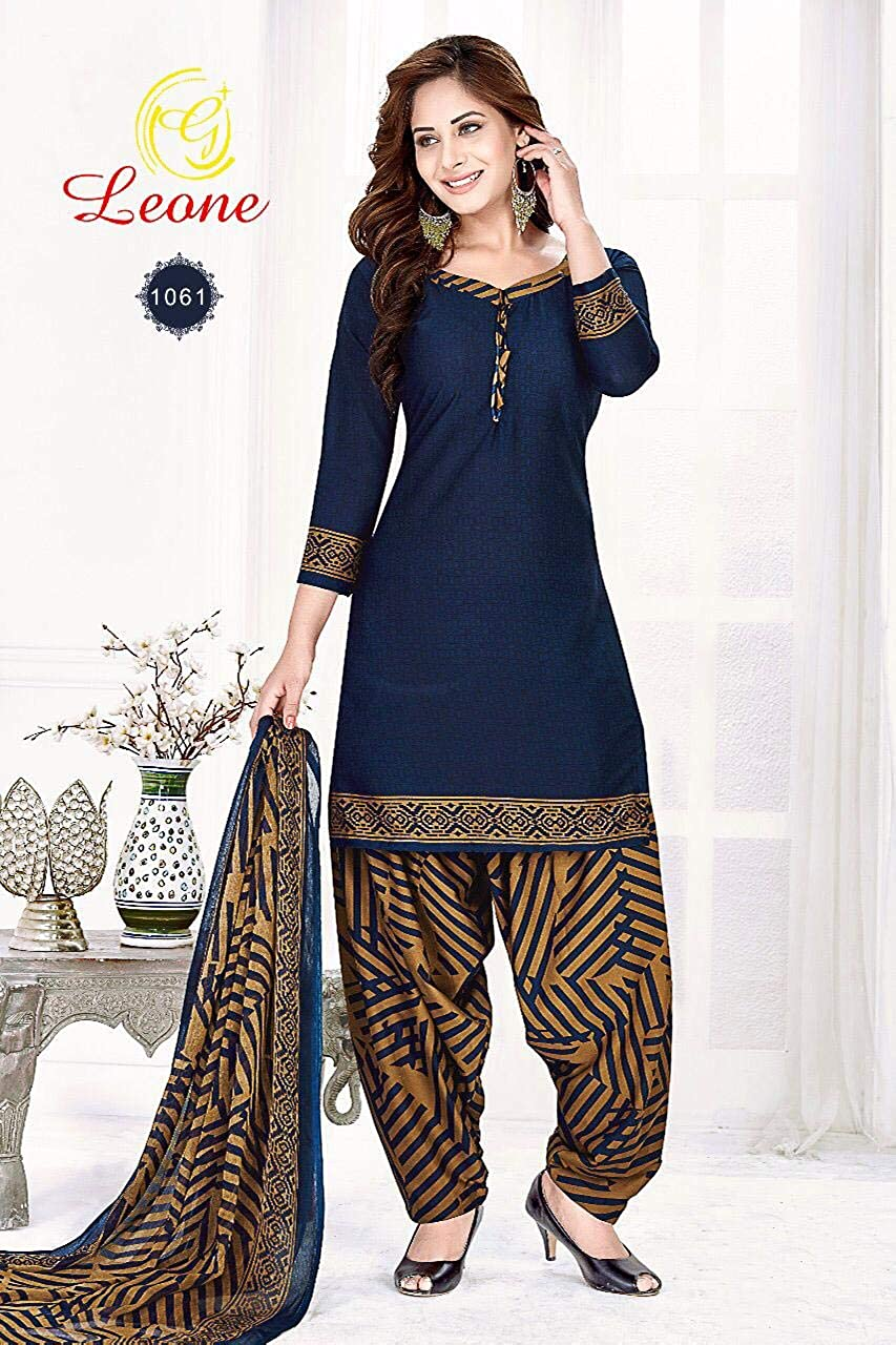 Buy Kirtida Women S Crepe Unstitched Salwar Suit Dress