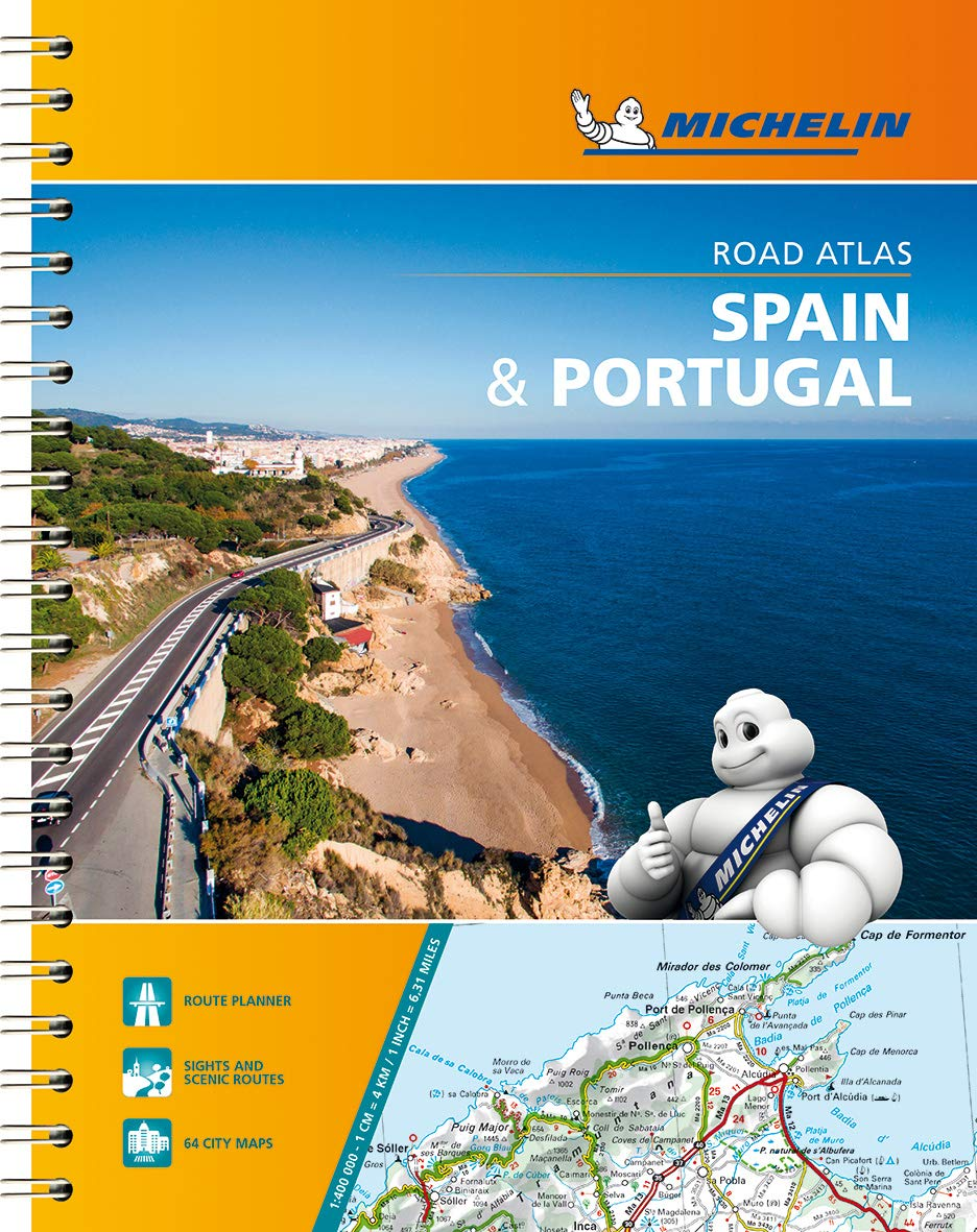 Cartina Michelin Croazia.Amazon It Spain Portugal Road Atlas 1 400 000 Lingua Inglese Michelin Travel Publications Libri In Altre Lingue