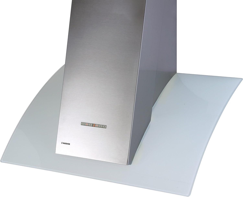 Nodor VERSA 850 m³/h De pared Acero inoxidable - Campana (850 m³/h, Canalizado/Recirculación, 41 dB, De pared, Acero inoxidable, 50 W): Amazon.es: Hogar