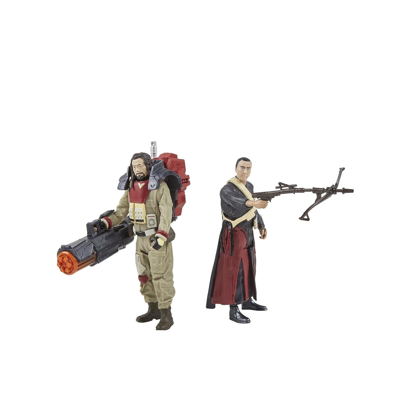 Star Wars Force Link Chirrut Imwe /& Baze Malbus 2-Pack Hasbro C3529
