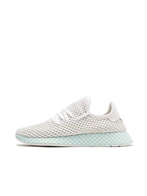 low priced 731cd bf7c4 adidas Deerupt Runner W, Scarpe da Running Donna, Bianco Ftwr WhiteGrey One