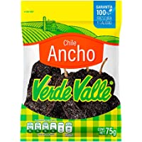 Verde Valle, Chile Ancho, 75 gramos