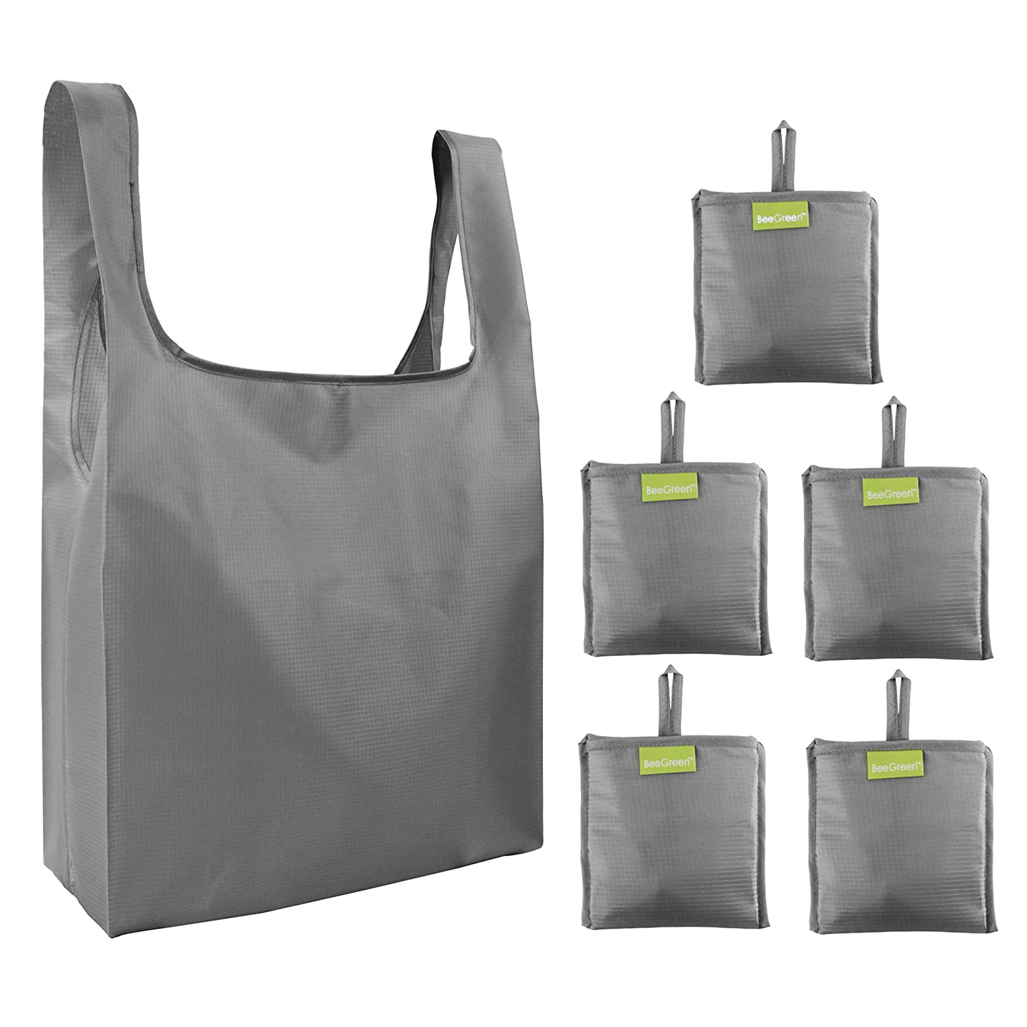 d2b02d0427f5 Folding-Reusable-Grocery-Bags-Shopping-bag with Pocket Folded Groceries  Compact Bags for Shopper Gifts Travel Washable Bulk