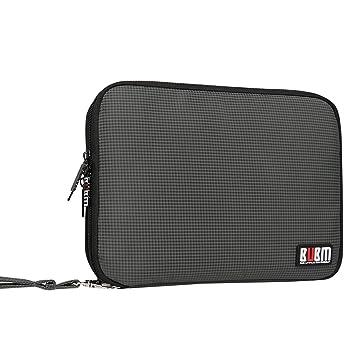 Doble Capa Travel Gear Organizador / Electrónica Accesorios Bolsa / caso del cargador de batería, Ajuste para el iPad / iPad Mini Aire / iPad (L, ...