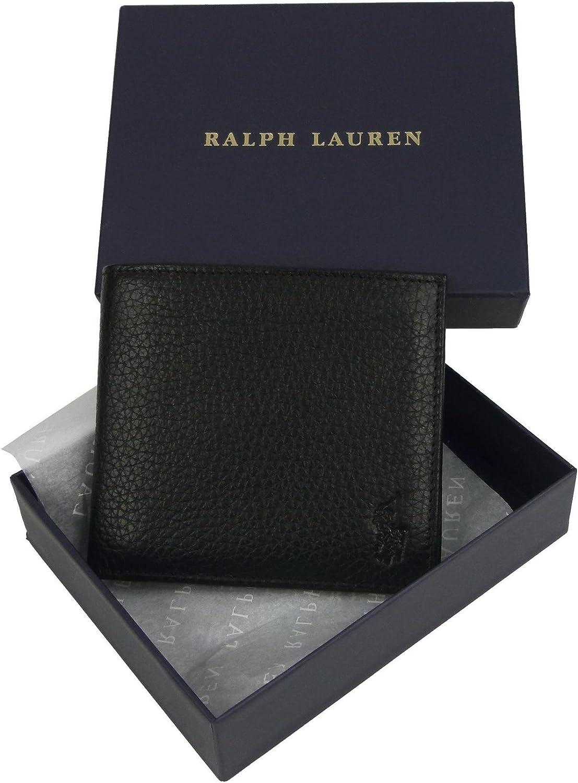 Ralph Lauren - Cartera para hombre Negro Talla única: Amazon.es ...
