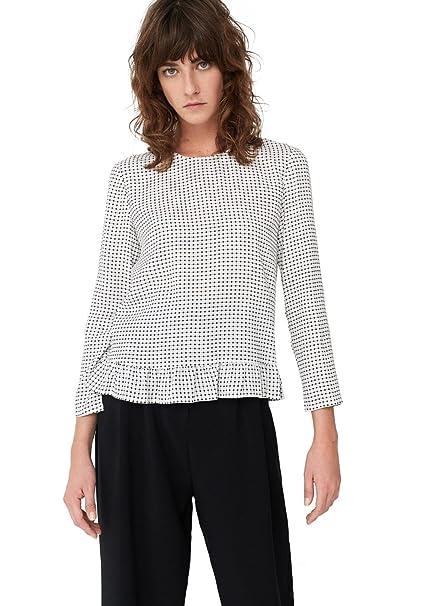 MANGO - Camisas - para mujer blanco blanco 40: Amazon.es: Ropa y accesorios