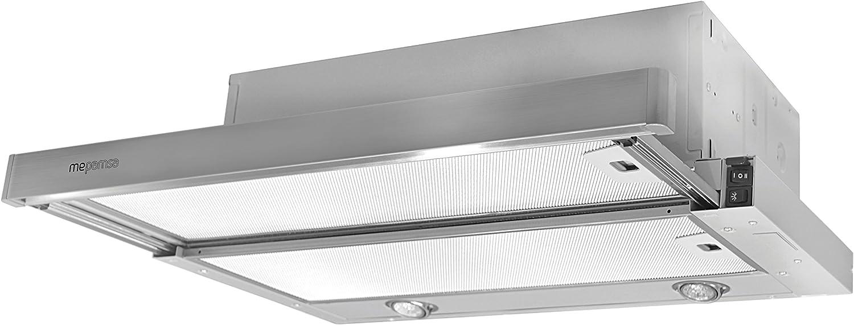 Mepamsa Superline 60 Campana aspirante extraplana de inox, 20 W, 2 Velocidades, Acero inoxidable: Amazon.es: Grandes electrodomésticos