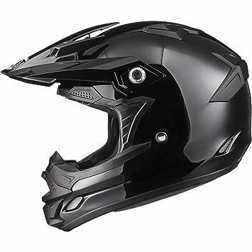 THH TX-24 - Casco de motocross (talla XS), color negro