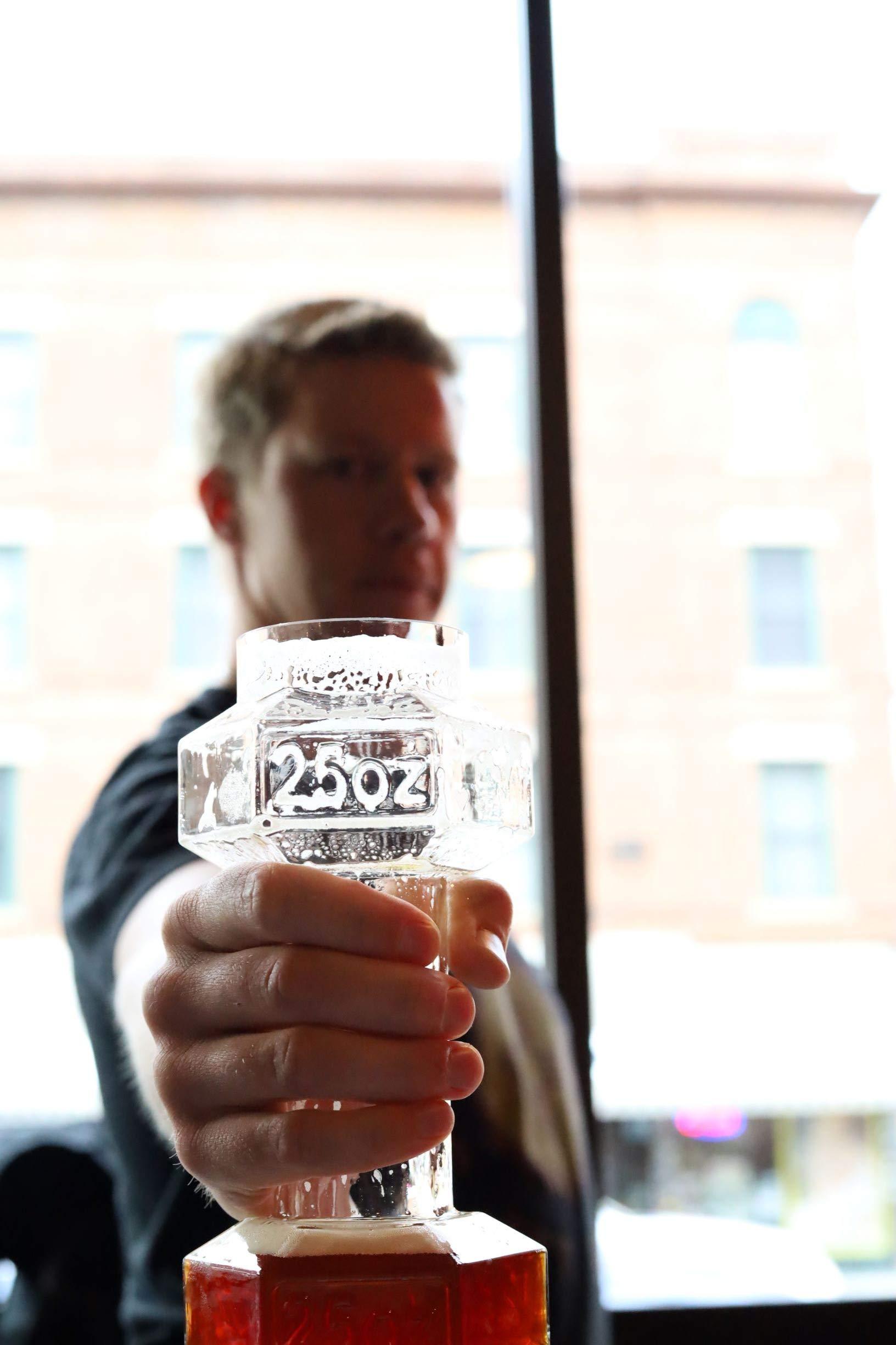 Set of 2, Dumbbell Beer Glasses | Dumbell Beer Glass | Funny Beer Mug | Beer Mugs For Men | Funny Beer Glasses | Beer…
