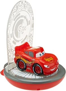 Disney cars table lamp amazon toys games disney cars magic night light lightning kids torch and projector by go glow mozeypictures Image collections