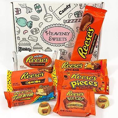 Caja de regalo caramelos Reeses americanos | Selección de chocolate con mantequilla de cacahuete| 9