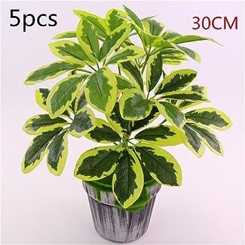 Lifestyle-Nice 10pcs künstliche Pflanzen 30cm büro Bonsai ...