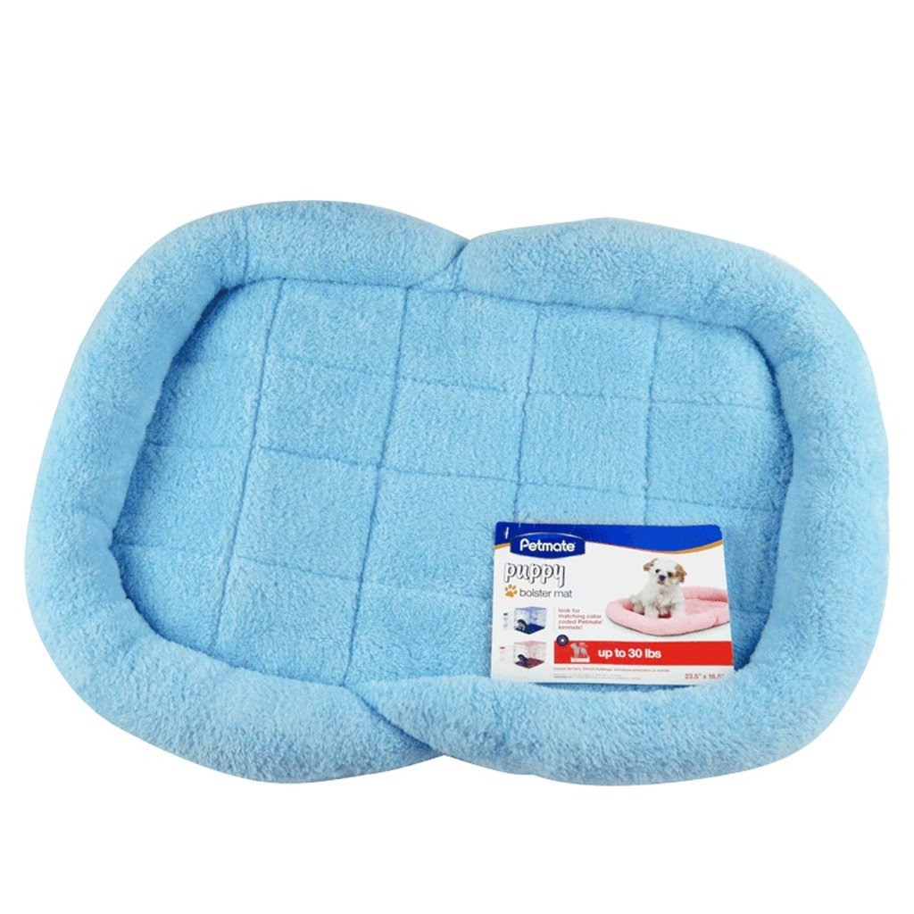 bluee Huangyingui Pet Bed Thick PP Cotton Pad Cat And Dog With Non-removable Water (color   bluee)