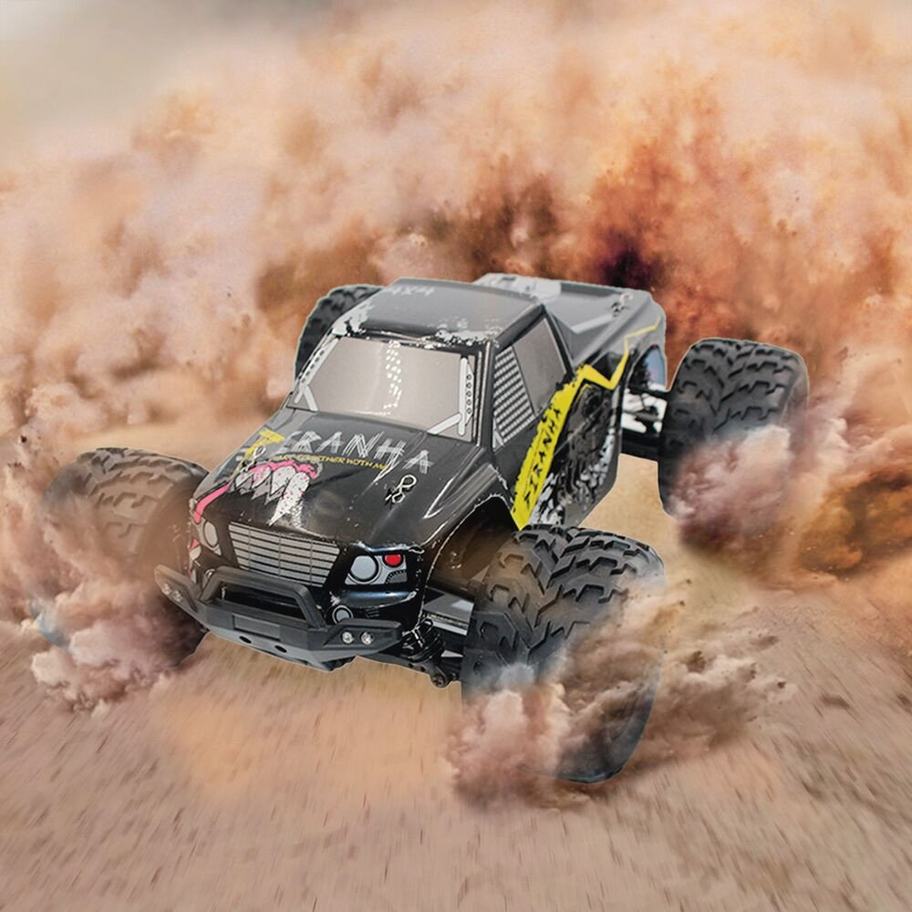 Dreamyth Excellent 2.4G 1:12 RC High Speed Full-Scale Four-wheeler Pickup Truck Car