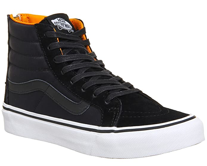 Vans Sk8-Hi Sneakers Kinder Unisex High Top Schwarz