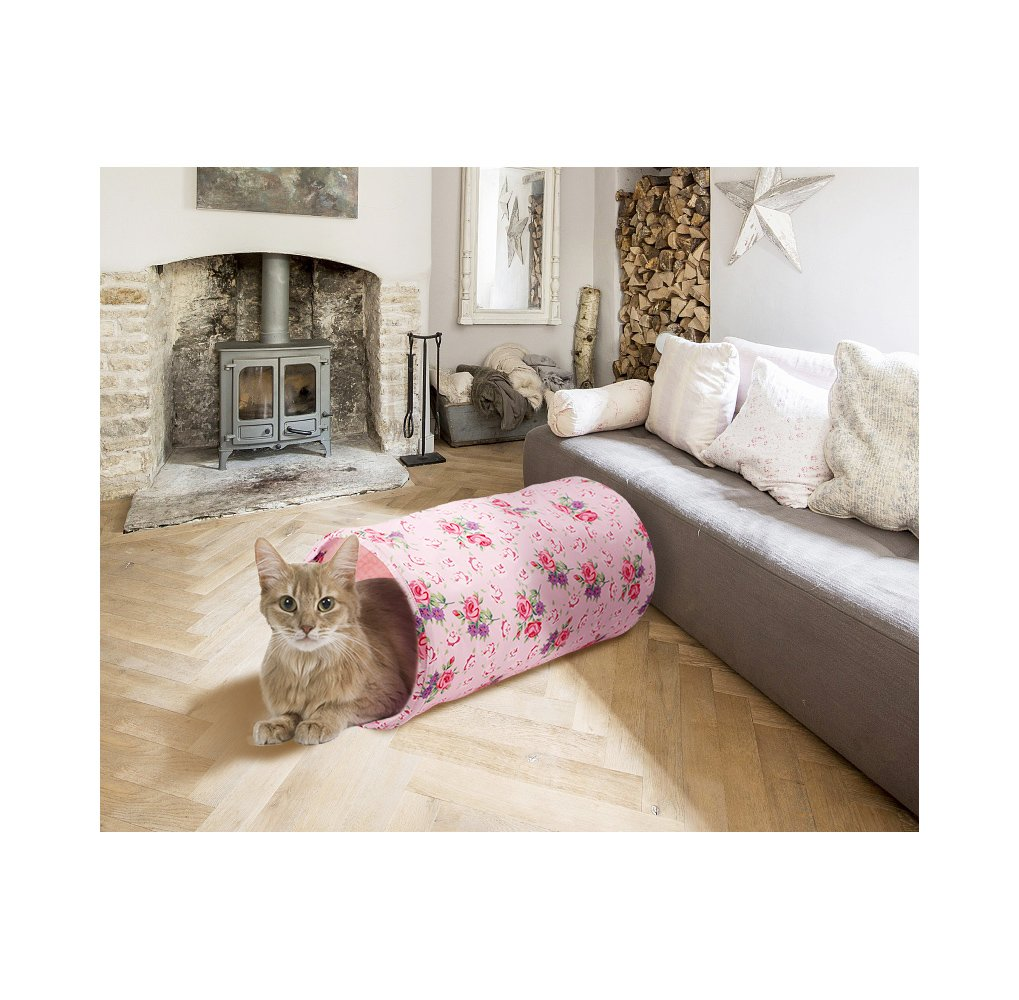 ALL FOR PAWS AFP Crinkle Cat Tunnel Cat Toys (Shabby Chic) by ALL FOR PAWS (Image #6)