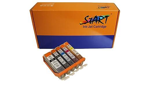 1073 opinioni per Start- 5 XL CHIP Cartucce compatibili per Canon PGI-550BK XL Nero, CLI-551BK XL