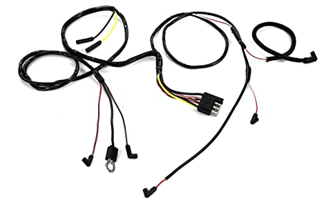 Outstanding Amazon Com Mustang Engine Gauge Feed Wiring V8 With Gauges 3 Wiring Digital Resources Funapmognl