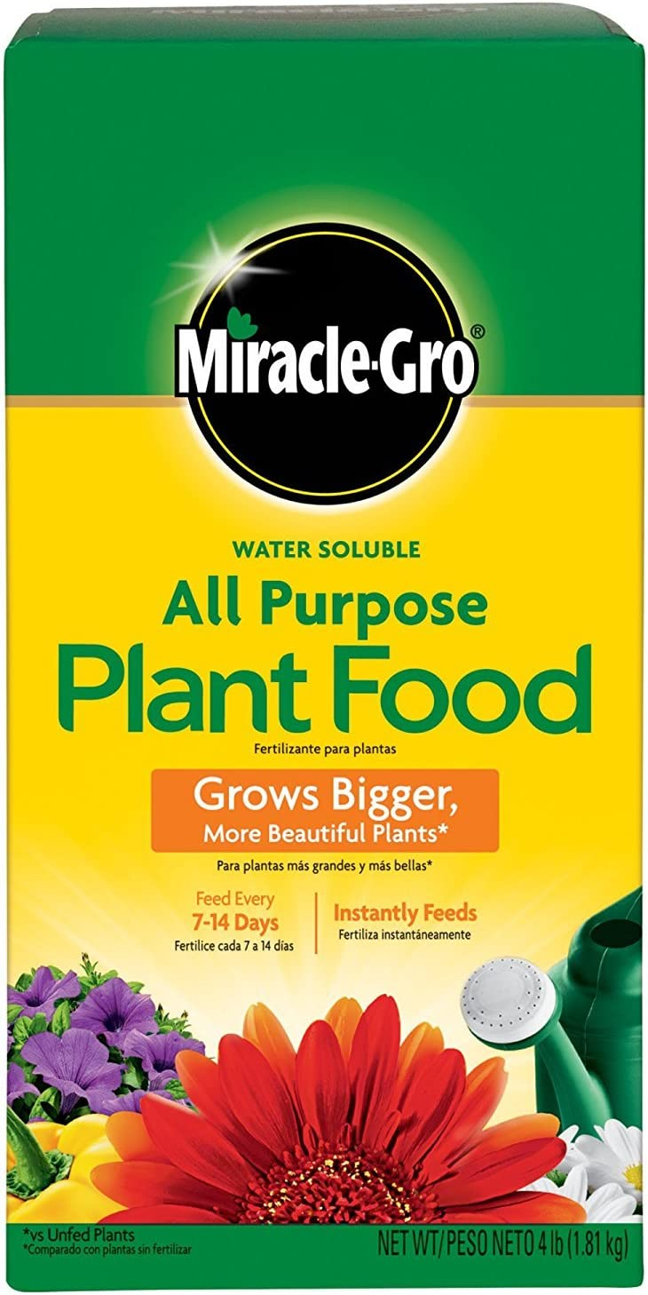 The Scotts Company Miracle Grow No.4 Water Soluble All Purpose Plant Food (2)