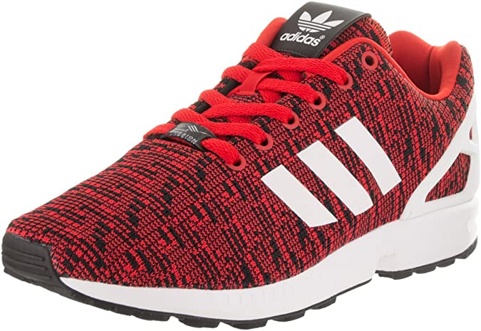 Adidas ZX FLUX Men/'s Shoes Lightweight Breathable Training Sneakers Red AQ3098