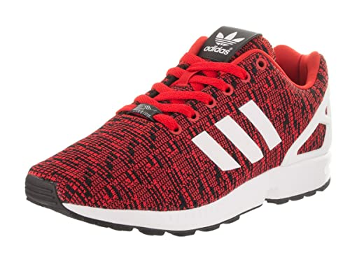 low priced 424e8 1b1c8 adidas Men s ZX Flux Originals Red Ftwwht Cblack Running Shoe 10 Men US