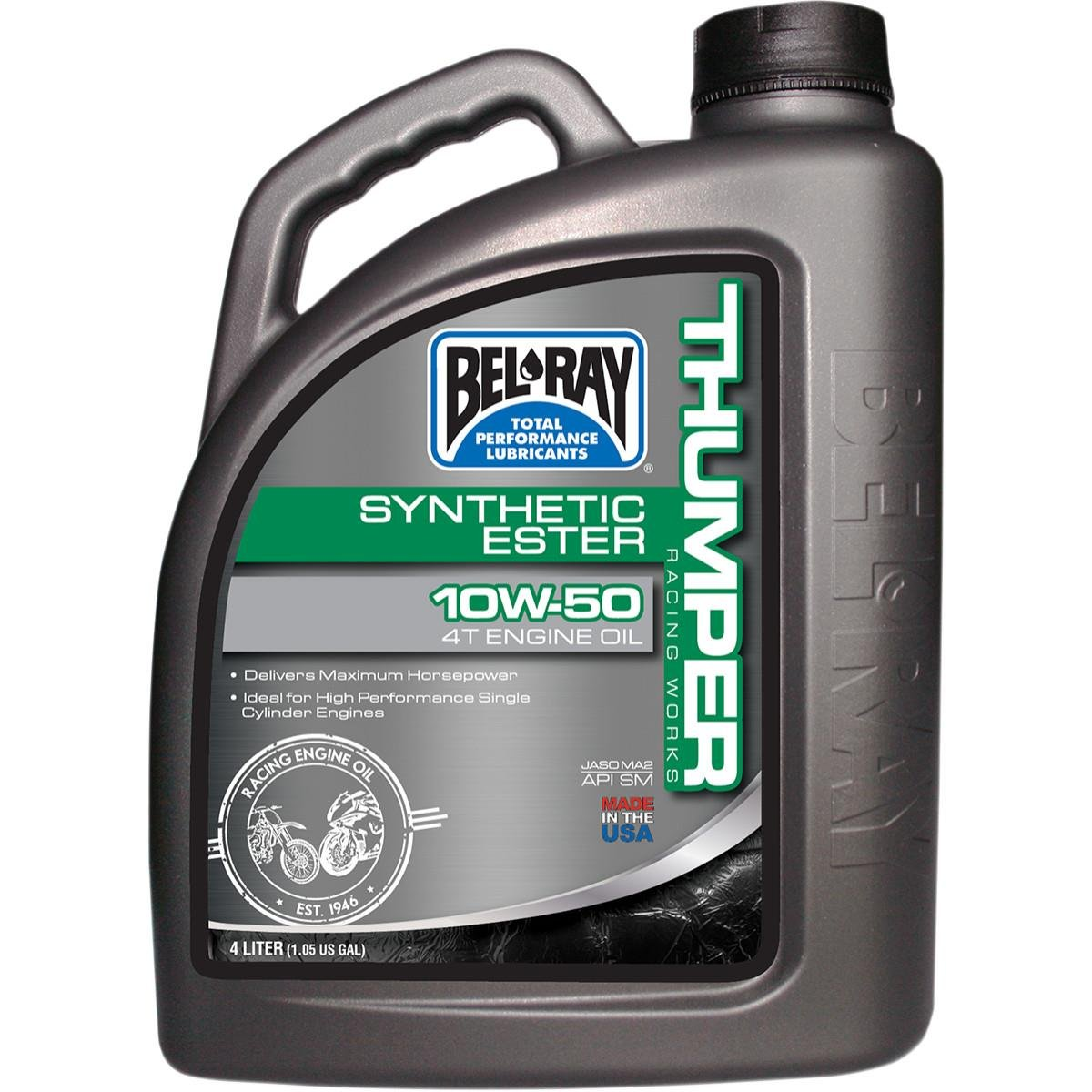 Bel-Ray Works Thumper Racing Full Synthetic Ester Blend 4T Engine Oil - 10W50 - 4L. 99550-B4LW