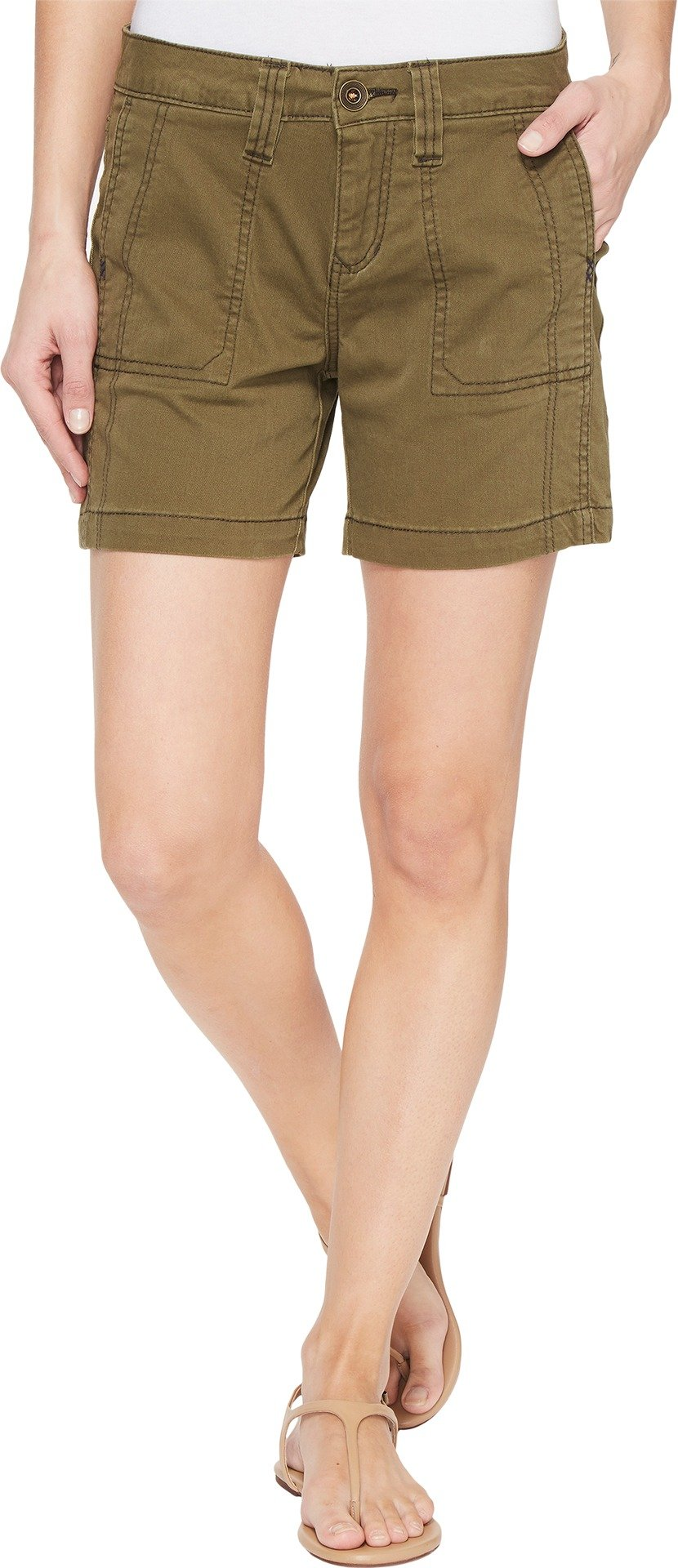 Jag Jeans Women's Somerset Relaxed Fit Shorts in Bay Twill Hedge 0 6