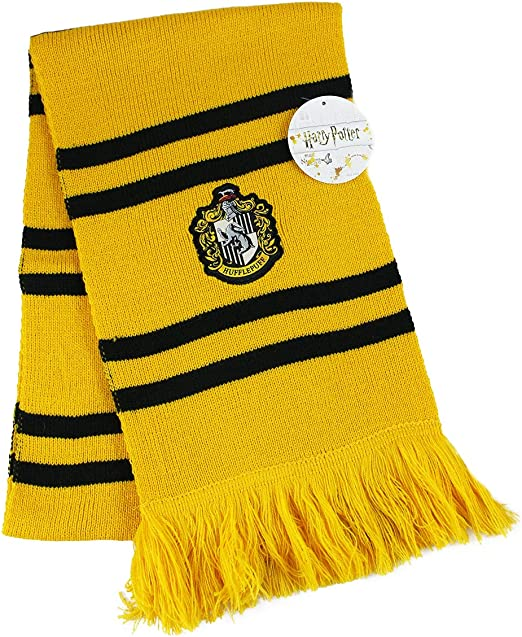 HARRY POTTER SCARF OFICIAL Casa de Hufflepuff Hogwarts School of ...
