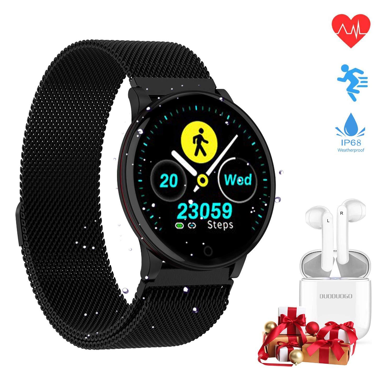 DUODUOGO Smartwatch Reloj Inteligente IP67 con 1.3 Pulgadas ...