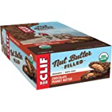 CLIF Nut Butter Filled - Organic Energy Bar - Chocolate Peanut Butter - (1.76 Ounce Protein Snack Bar, 12 Count)