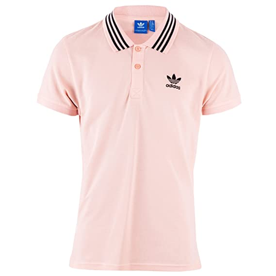 adidas Originals - Polo - para Hombre Rosa Rosa: Amazon.es: Ropa y accesorios