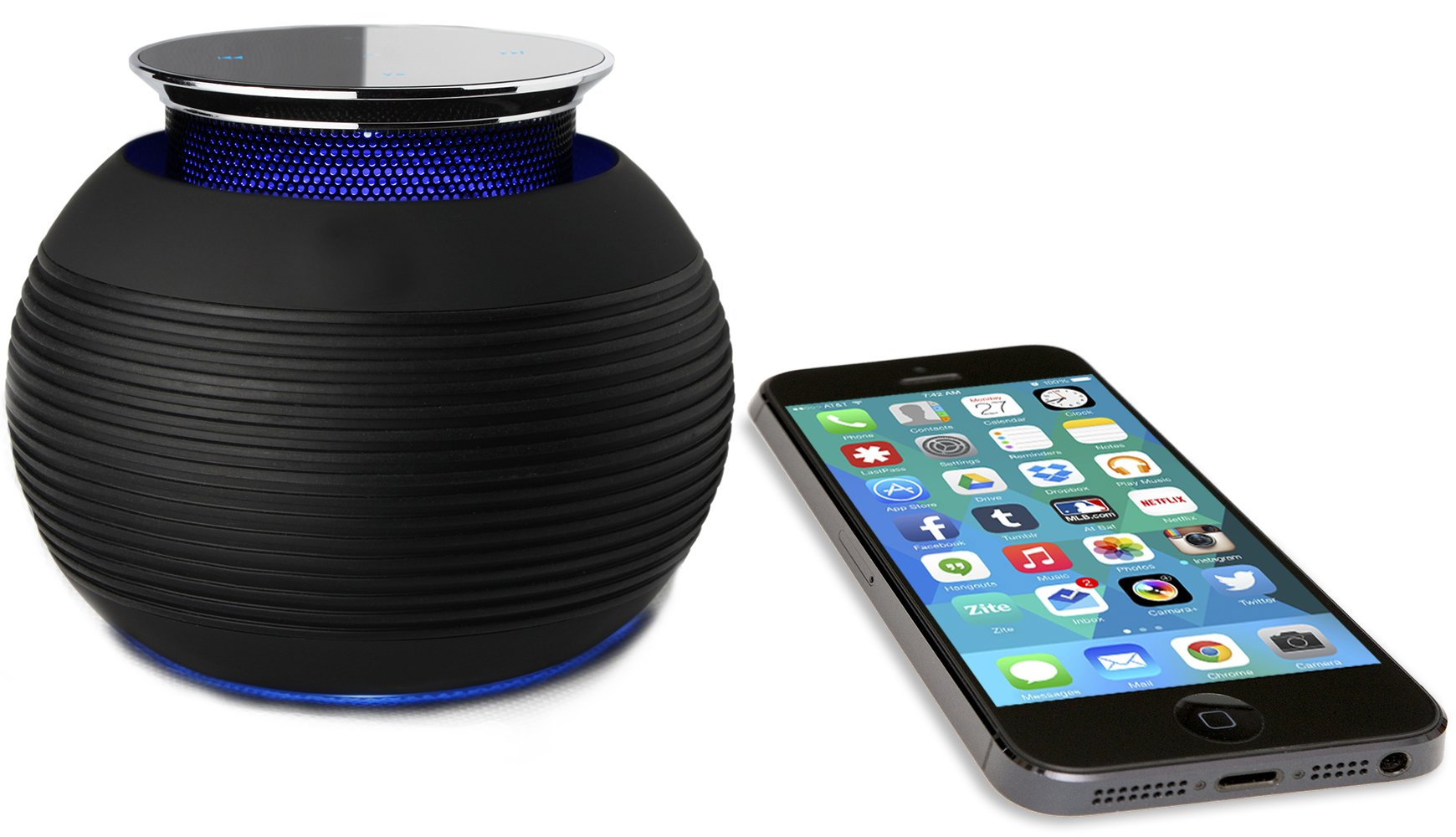 Wireless Bluetooth Speaker- BLKBOX POP MAX Hands Free...