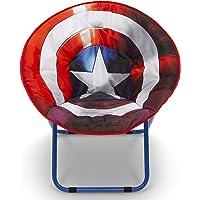 Delta Children Saucer Chair for Kids/Teens/Young Adults, Avengers