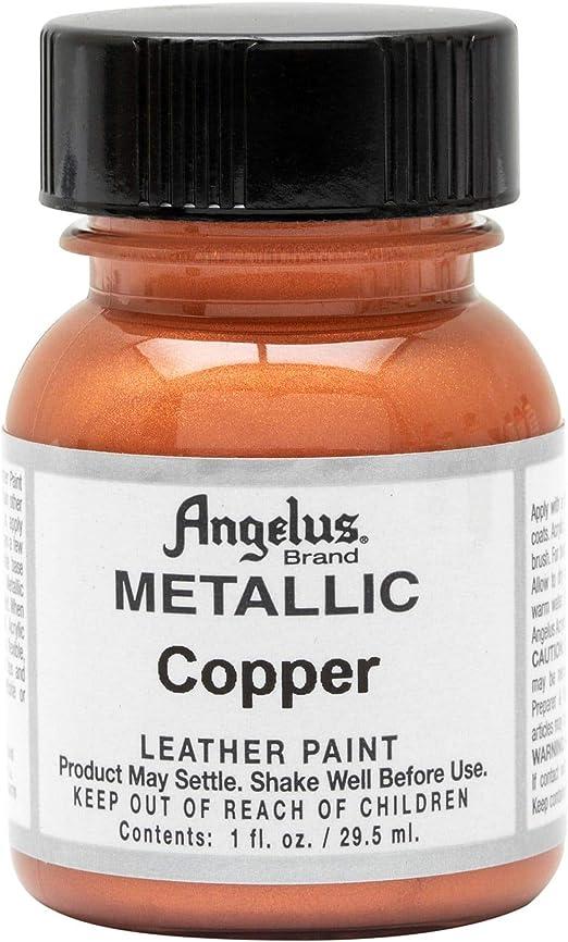 Angelus Leather Paint 1 oz Copper
