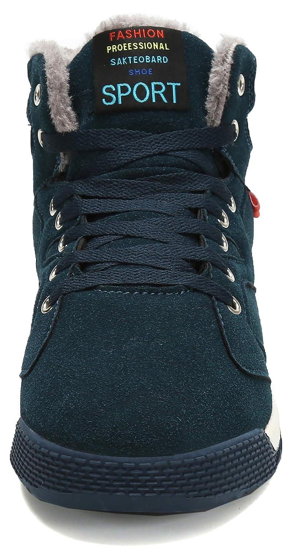 Zapatos de Invierno Hombre Botas Forradas Calientes Botines Nieve Cómodo y Calentito: Amazon.es: Zapatos y complementos