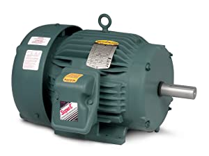 BALDOR ECP3668T-4 Three Phase, Totally Enclosed, Foot Mounted, Severe Duty Motor, 15 hp, 860 RPM, 3PH, 60 Hz, 184T, 0634M, TEFC, F1, 460V, Steel