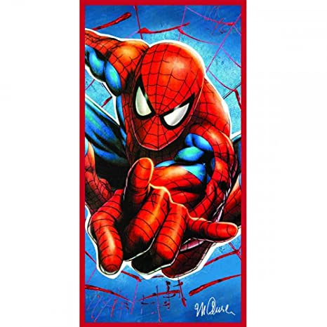 Celebrity Íconos Spiderman - Toalla de playa 70 x 140 cm: Amazon.es: Hogar