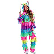 51ca74d567 Tipsy Elves Funny Pinata Costume for Halloween - Adult Pinata Outfit  Jumpsuit Onesie