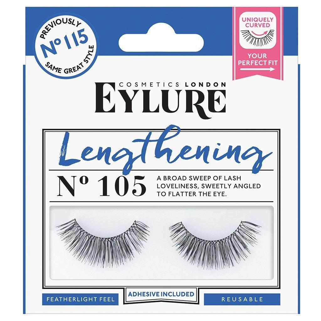 484b93909c7 Eylure Strip Lashes, Lengthening Number 105: Amazon.co.uk: Beauty