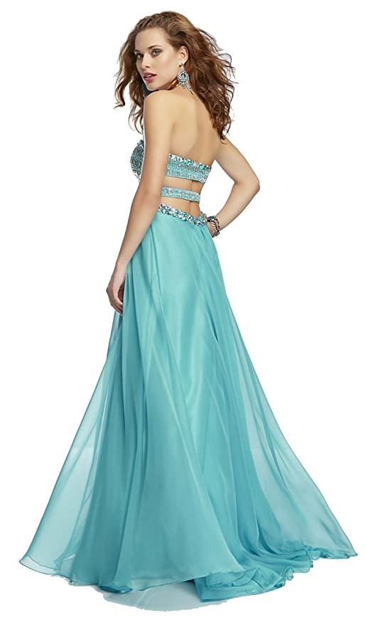 Amazon.com: Mori Lee 95012 Paparazzi Strapless Prom Dress, Sunflower, 8: Clothing