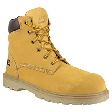 65d0ddcdcdc9 Timberland PRO Hero Mens Safety Boots (4 UK) (Wheat)  Amazon.co.uk ...