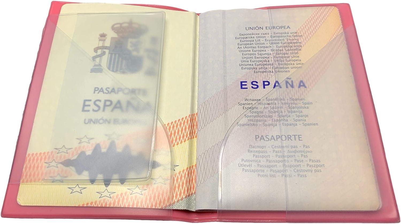 TODOFUNDA Funda Pasaporte Diseño Divertido Kway Buho Passport Cover: Amazon.es: Equipaje