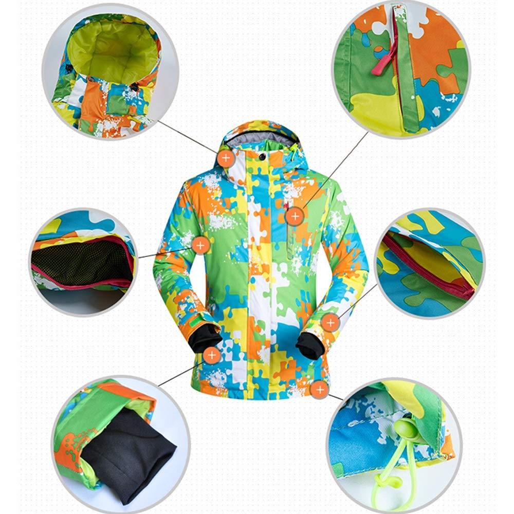 ChenYongPing Giacca da da da Sci Pantaloni da Sci da Sci Set Antivento Impermeabile Invernale in Poliestere Caldo Snowboard Tuta da Donna Abbigliamento da Sci Ideale (Coloreee   blu Pants, Dimensione   S)B07L3P9LCDMedium giallo Pants | prezzo di sconto speciale 2e077b