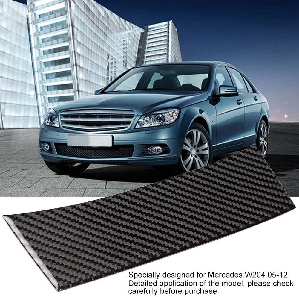 EBTOOLS Auto Zigarettenanz/ünder Paneel Dekoration Kohlefaser Innenverkleidung f/ür W204 05-12