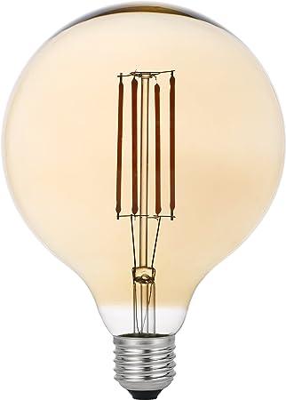 Garza Lighting - Bombilla LED Vintage Gold, potencia 4W, casquillo E27, luz cálida 2700K: Amazon.es: Hogar